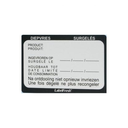 LabelFresh Pro diepvries etiketten